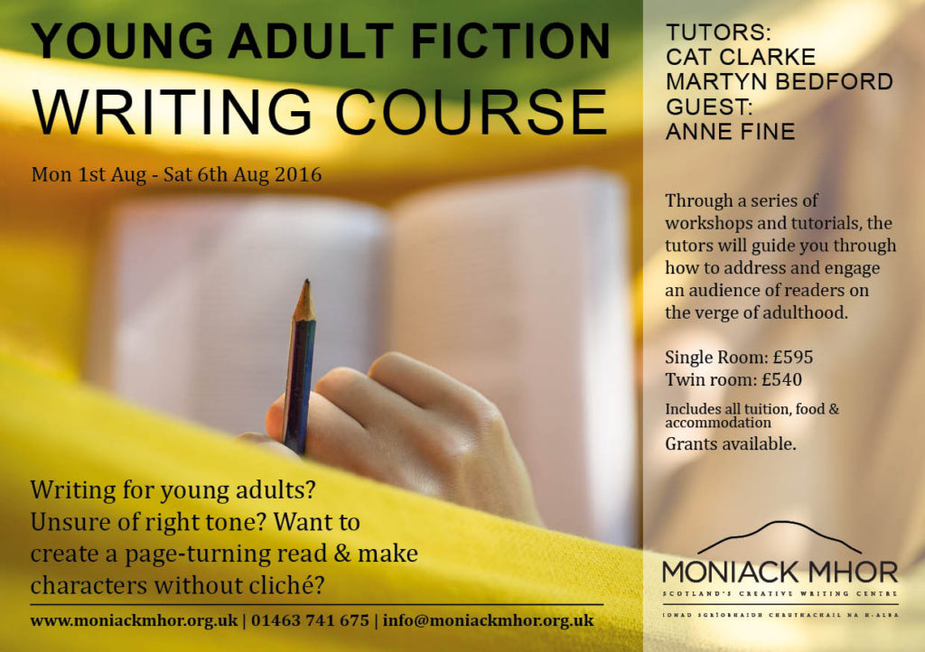 Young Adult Fiction Flyer